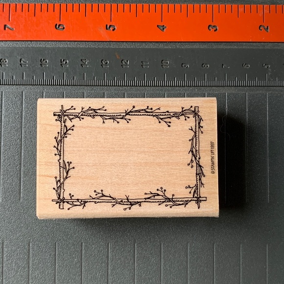 Stampin' Up! TWIG BOOKPLATE